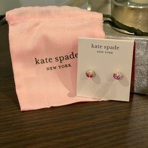 NWT Kate Spade Pink Ombré Earrings